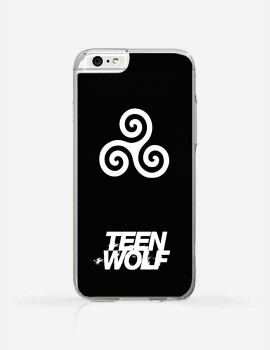 Obudowa  TEEN WOLF SIGN BLACK
