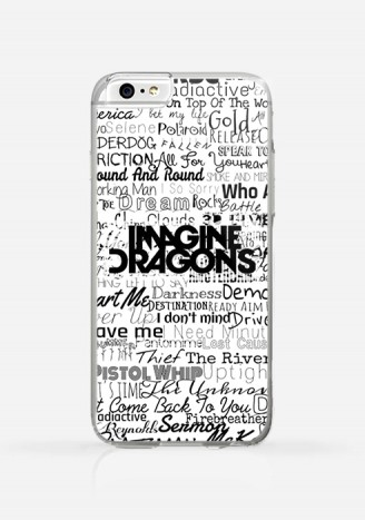 Obudowa IMAGINE DRAGONS TEXTE
