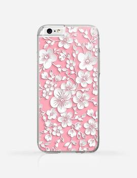 Obudowa Białe Kwiatuszki