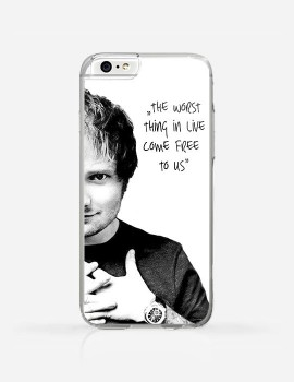 Obudowa Ed Sheeran - The Worst Thing In Live Come Free To Us
