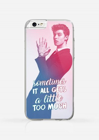 Obudowa SHAWN MENDES - A LITTLE TOO MUCH