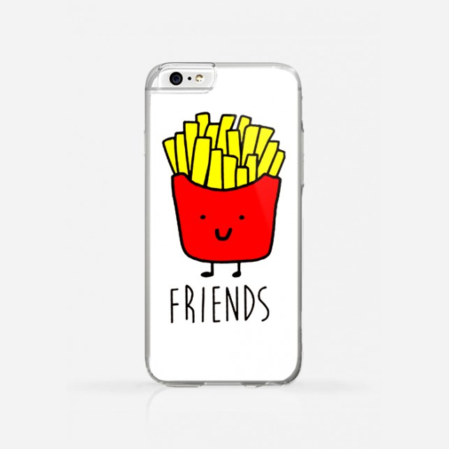 how to use iphone 5s obudowa friends fries 2 girla 17307